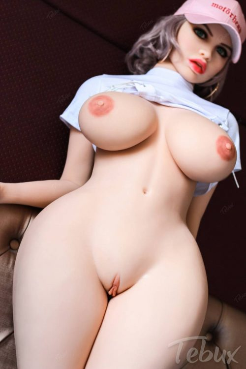 Big booty sex doll standing naked