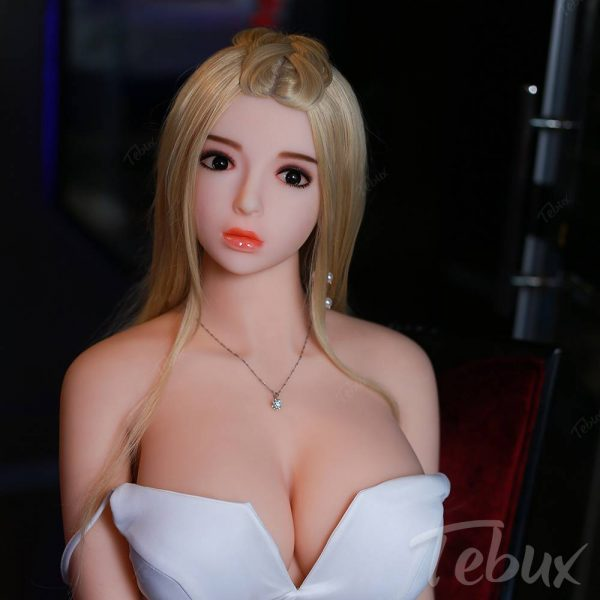 Full size sex doll Alexia sitting naked