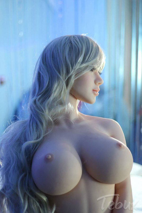 Life like sex doll Skyler standing naked