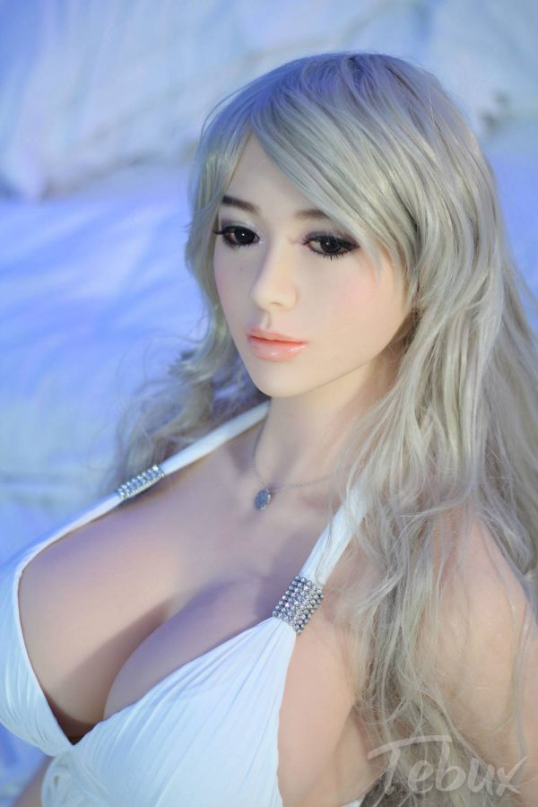 Life like sex doll Skyler lying down