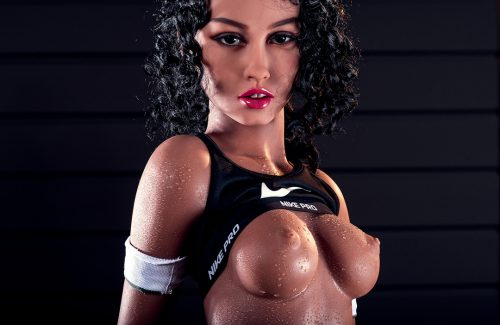 Reallife sex doll Abby topless