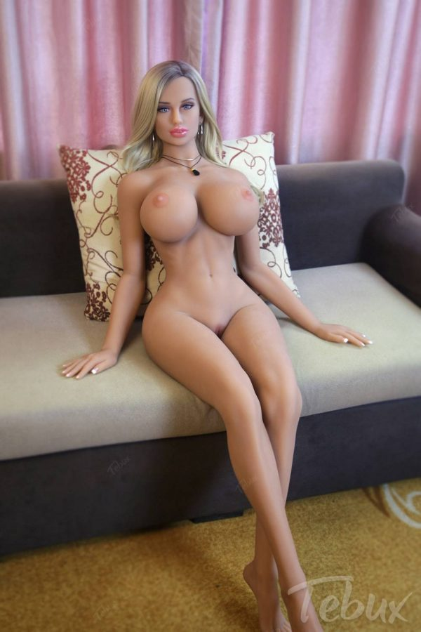 Sex dolls life like lying naked
