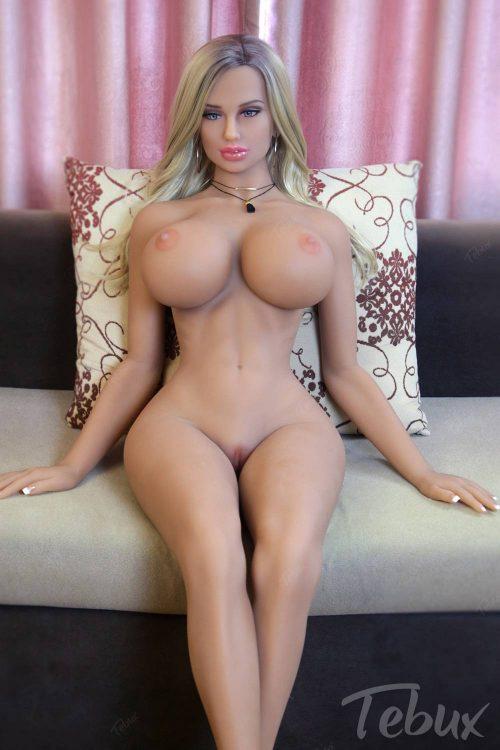 Sex dolls life like lying naked