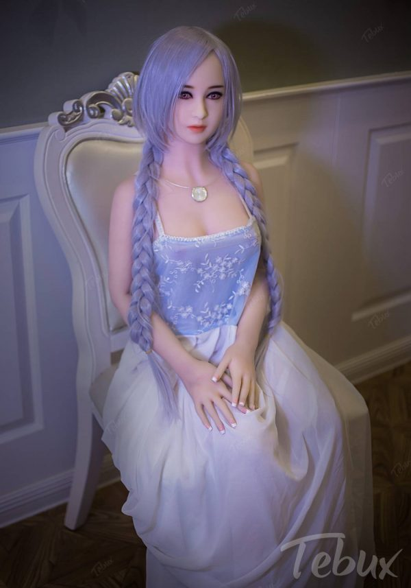 Sex dolls on sale Elle sitting wearing dress