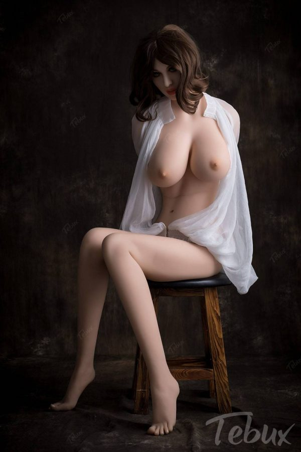 Adult sex doll sitting naked