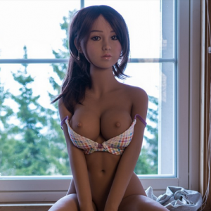 Asian sex dolls sitting down naked