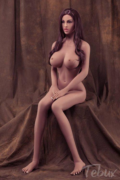 Best sex doll sitting naked