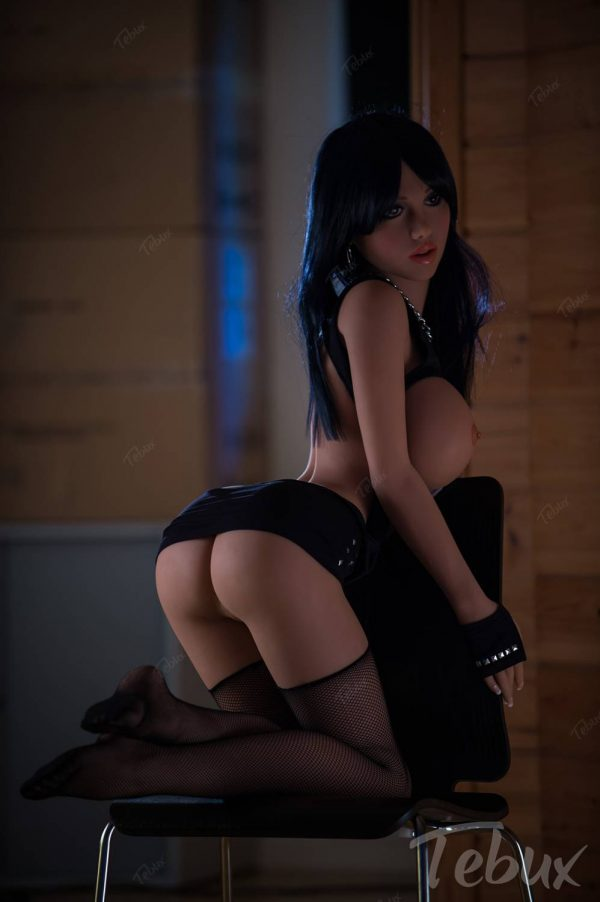 Busty sex dolls like Marianna kneeling naked