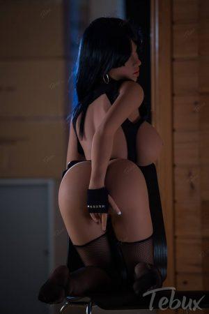 Busty sex dolls like Marianna kneeling naked