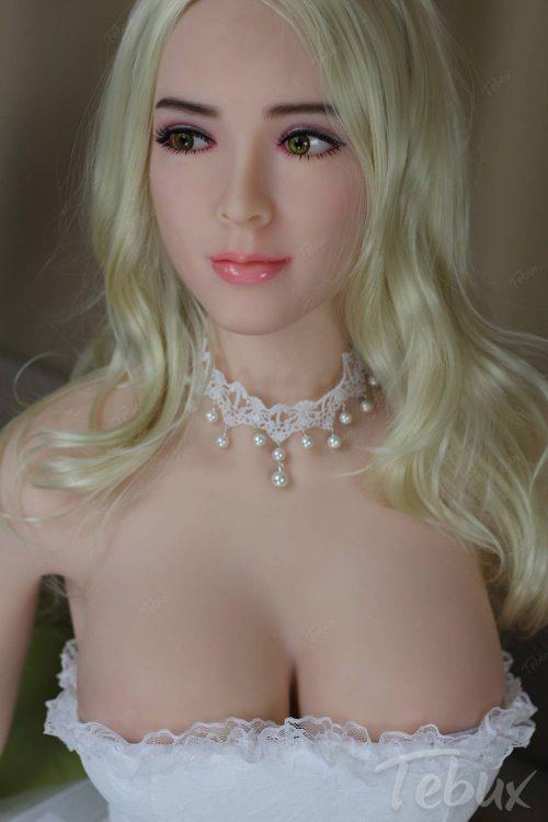 Buying a sex doll like Jazmine wearing a white dress