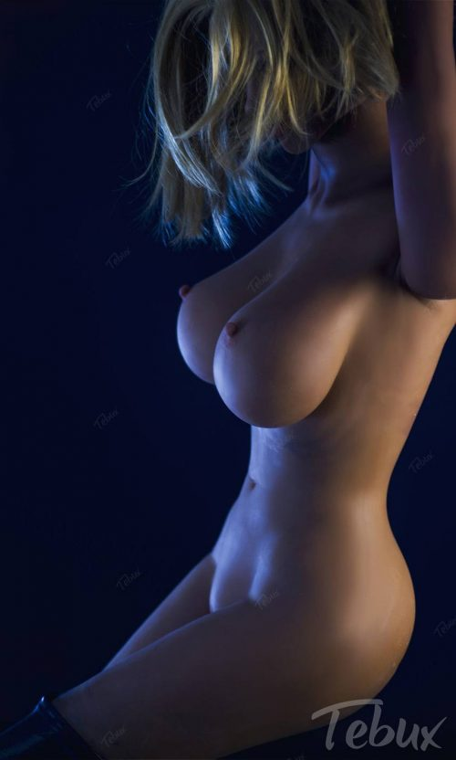 Cheap sex doll standing naked