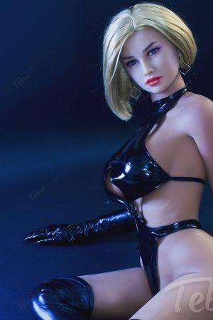 Cheap sex doll lying down