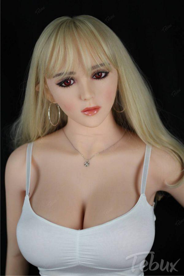 Elf sex doll Virginia sitting