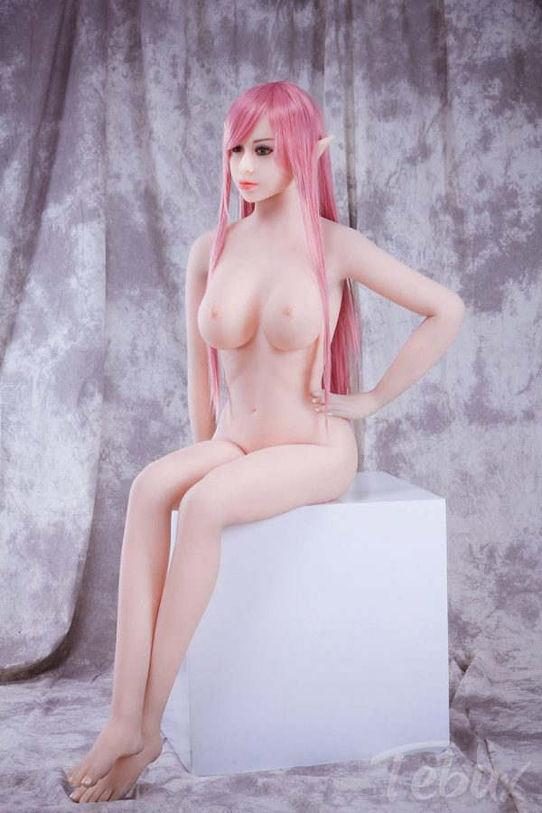 Fantasy sex doll Emerson sitting down naked