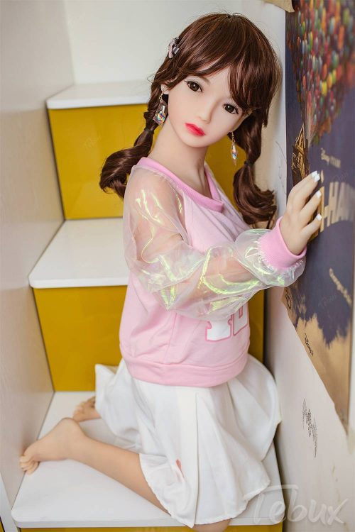 Japanese sex doll standing up
