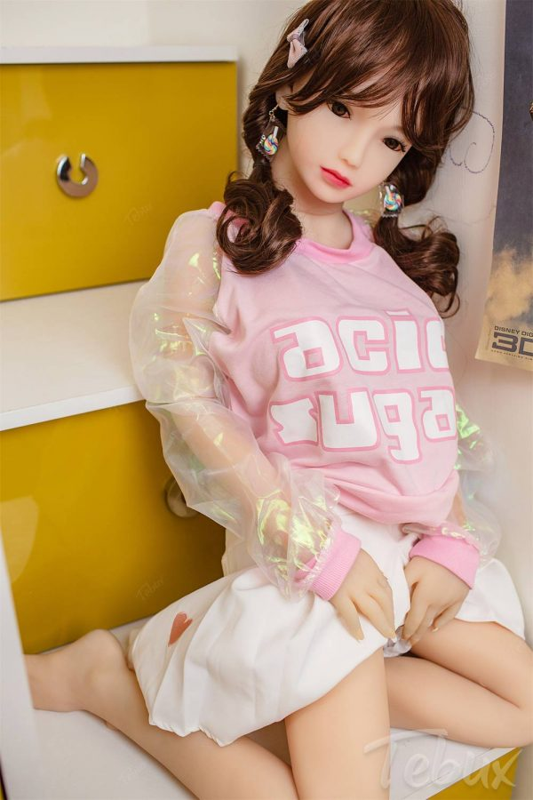 Japanese sex doll sitting