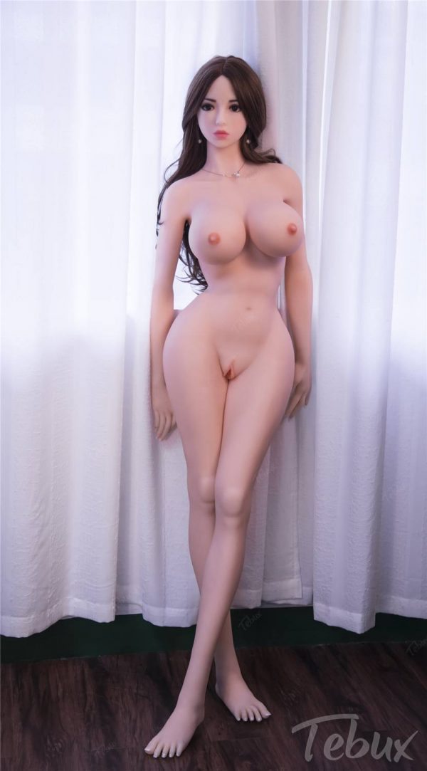 Life sized sex doll Marissa standing naked