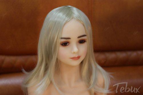 Low priced sex dolls like Bella sitting down
