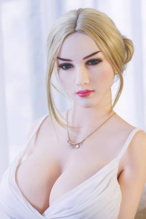 Mature sex dolls like Karla in white dress