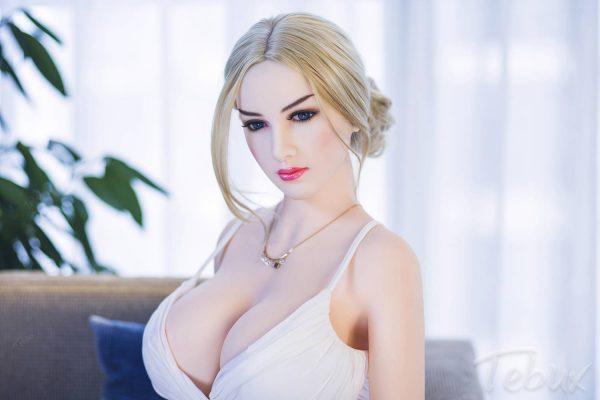 Mature sex dolls like Karla in white dress