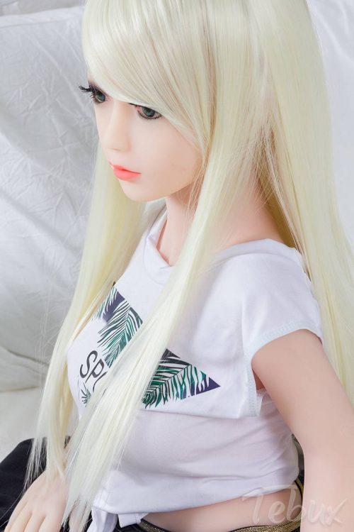Mini love doll sitting down