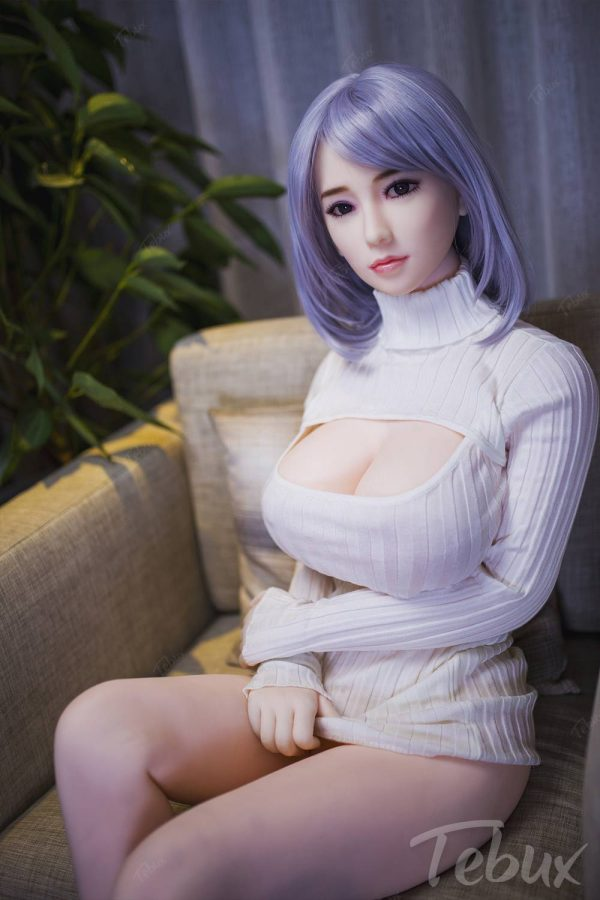 Sex doll for men wearing white top