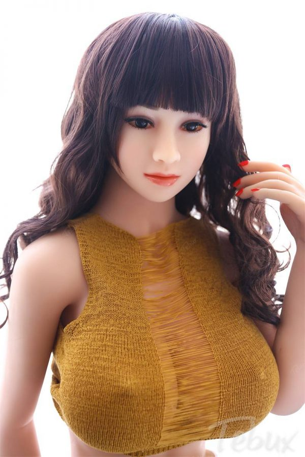 Sex dolls big breast wearing yellow top