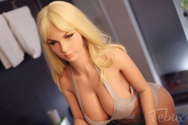Tall sex dolls sitting in lingerie